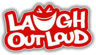 laugh out loud comedy logo